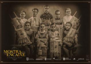 Cartel de la Mostra do Encaixe de Camariñas 2017 por Viéndote Crecer Fotografía Infantil