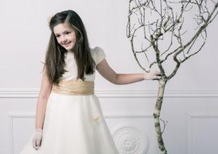 La sesión de fotos de comunión de la princesa Aldara de Vimianzo