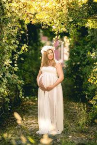 Sesión de fotos de embarazada de Diana Varela