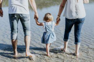 Fotos de familia en la playa de la Costa da Morte