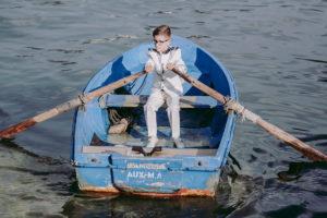 Comuniones en Camelle, las fotos de la conunión del marino Iván