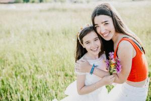 Las preciosas fotos de comunión de Antía de Cereixo