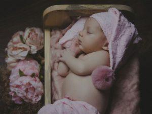 La sesión de fotos de recién nacida de Nuria de Camelle