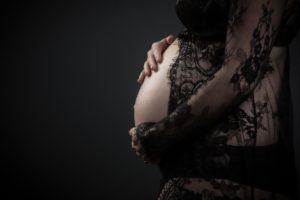 La sesión de fotos de premamá en Coruña de Mariana