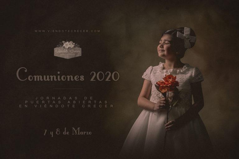 Comuniones 2020, jornadas de puertas abiertas en Viéndote Crecer