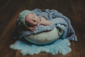 Newborn en la Costa da Morte, Adriana y Marco de Muxía