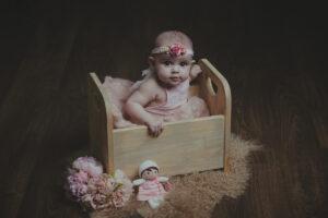 Las fotos de bebé en Camariñas de Briana