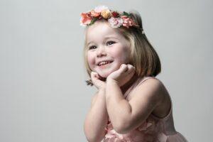 La sesión de fotos infantil de Lola de Xaviña