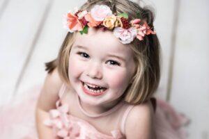 La sesión de fotos infantil de Lola