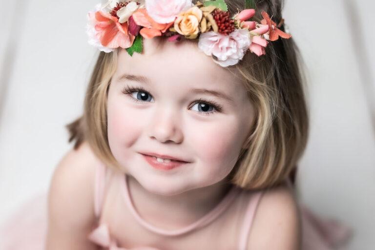 Sesión de fotos infantil de Lola de Xaviña