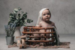La sesión de fotos de bebé de Ian de Gijón