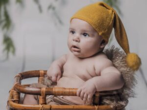 Las fotos de bebé de Noel de Camariñas