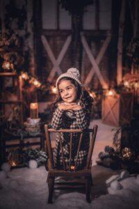 Sesiones de Navidad 2020 en Viéndote Crecer Fotografía Infantil