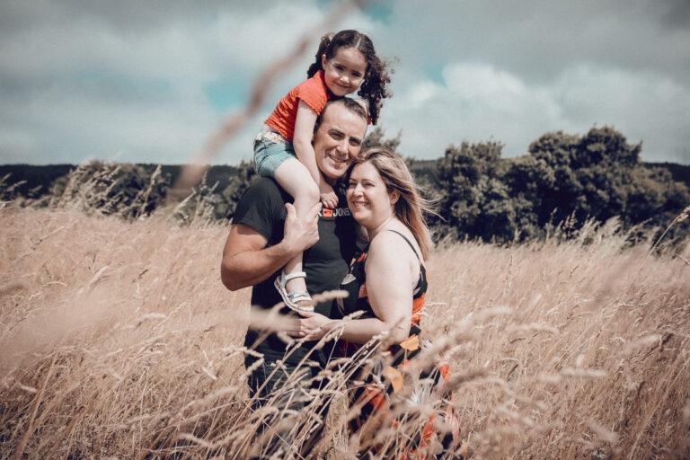 La sesión de familia en Vimianzo de Nerea
