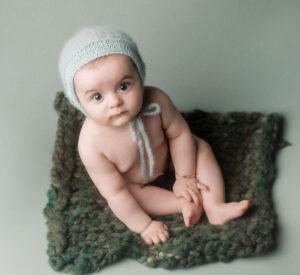 La sesión de bebé en Vimianzo de Luan
