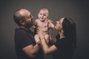 La sesión de bebé en Laxe de Martín