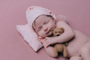 Valentina, sus fotos bonitas de recién nacida