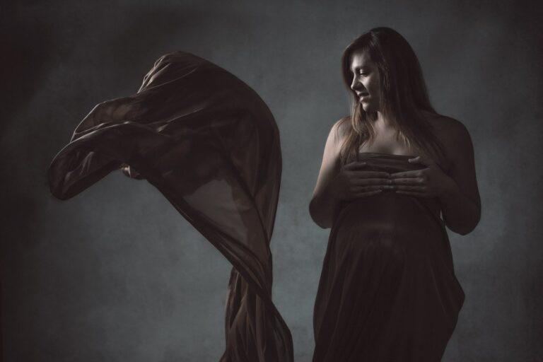 Las fotos de embarazo de mellizas de Eva de Vimianzo
