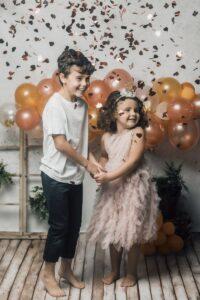La sesión de cumpleaños de Virginia y Nico