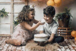 La sesión de cumpleaños de Virginia & Nico