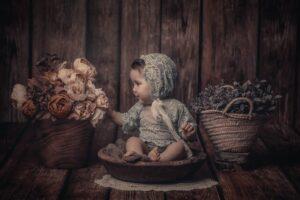 La sesión de bebé en Camelle de Alma