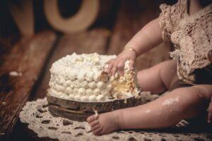 El smash cake en Malpica de Zoe