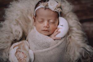Las fotos de mellizas recién nacidas de Vimianzo