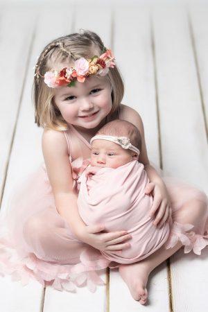 Las fotos de recién nacida de Lia de Xaviña