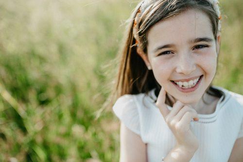 Sesión de comunión por Viéndote Crecer Fotografía Infantil en la Costa da Morte