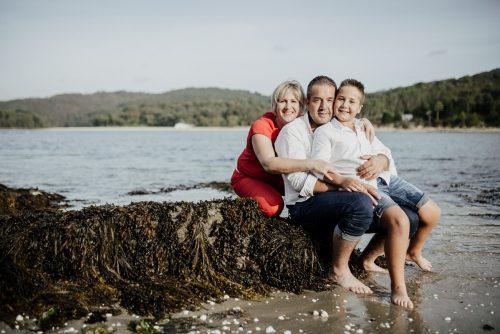 Sesión de fotos de familia por Viéndote Crecer
